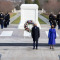 President Joseph R. Biden Jr. and Vice President Kamala Harris participate with former presidents Bill Clinton, George W Bush and Barack Obama in a Presidential Armed Forces Full Honor Wreath Ceremony at the Tomb of the Unknown Soldier in Arlington Nation